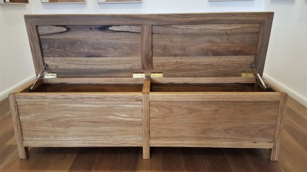 Solid Spotted Gum Chest