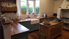 Blackwood Solid Timber Benchtop