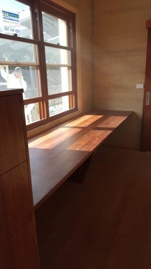 Solid Blackwood Desk