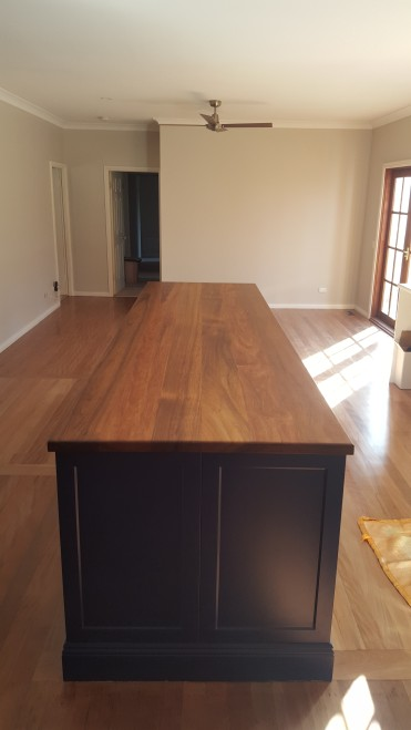 Blackwood Island Solid Timber Benchtop